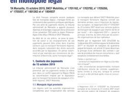 Négocier avec un concessionnaire qui bénéficie d'un monopole légal