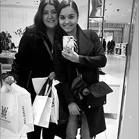 Shopping with stylist