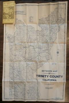 Metsker's Map of Trinity County