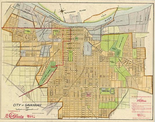Savannah GA, 1940