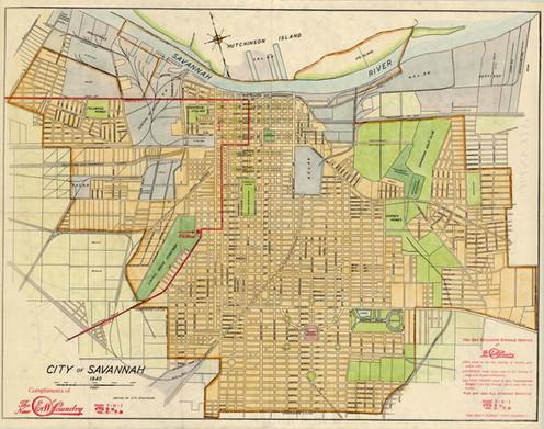 Savannah GA, 1940 on