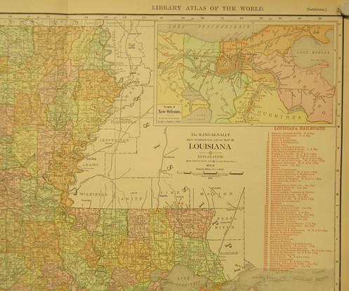 Louisiana, 1912 on