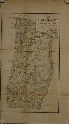 Oregon Territory, 1855