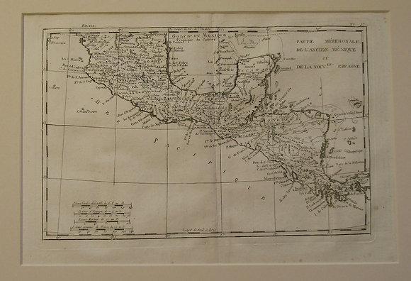 Mexico, Honduras, Nicaragua, Costa Rica 1770