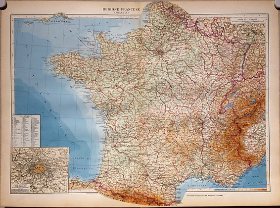 1934 France by Italian Government
