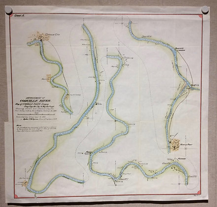 1895 Improvement of the Coquille River by A.C.E.