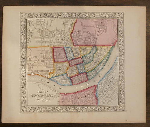 Cincinnati, Ohio, 1860