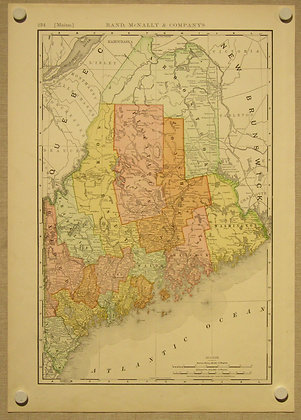 Maine, 1892