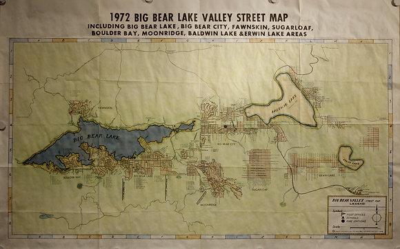 Big Bear Lake Valley, 1972