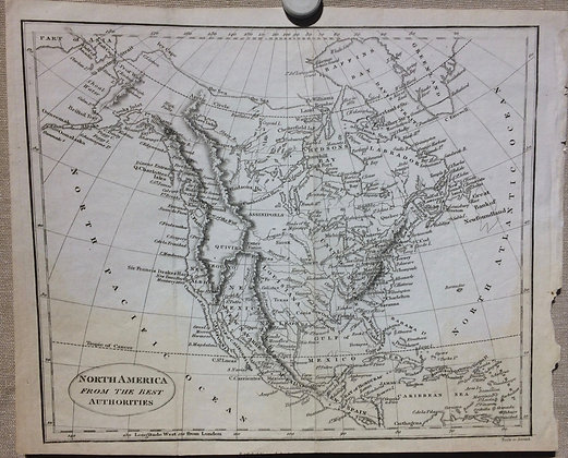 1835 North America From the Best Authorities
