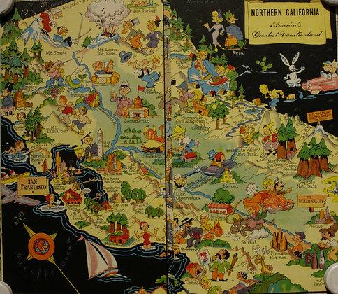 Northern California and San Francisco, 1939