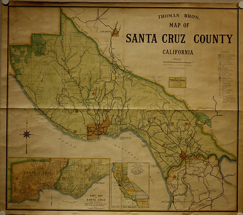Santa Cruz County, 1950
