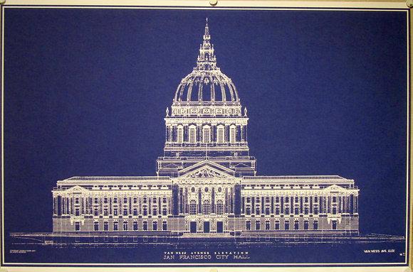 San Francisco, City Hall (print-to-order)