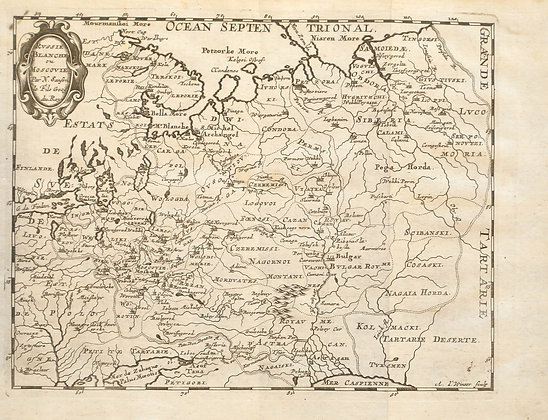Russie Blanche ou Moscovie