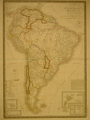 South America, 1845