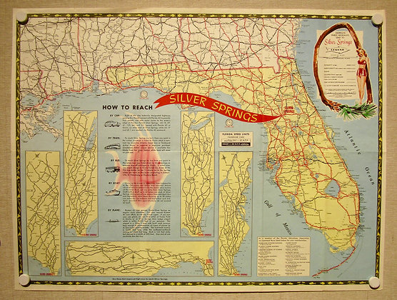 Silver Springs FL, 1955