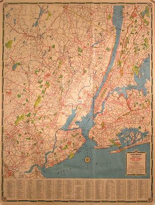 Metropolitan New York, 1955