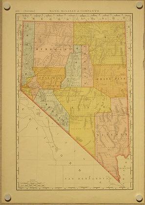 Nevada, 1892