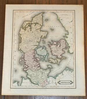 Lizar's Map of Denmark