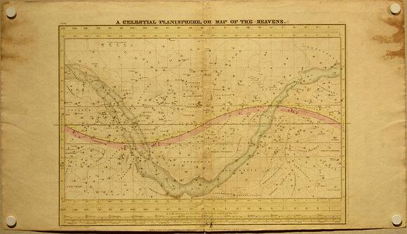 Celestial Map of the Heavens, 1835