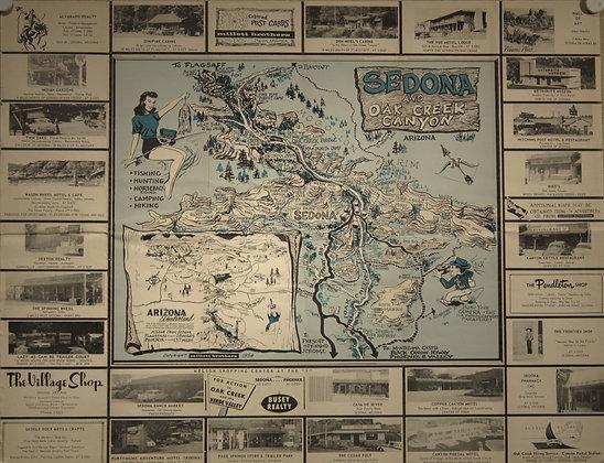 Sedona/Flagstaff, 1958