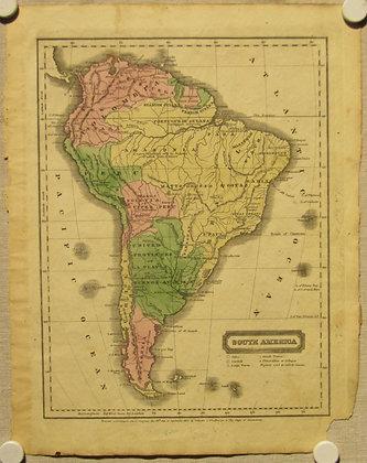 South America, 1829