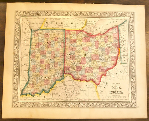 Ohio and Indiana, 1860