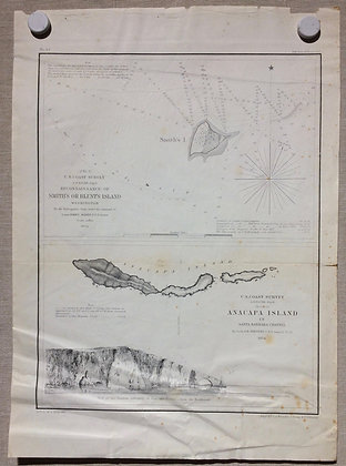 1854 USCS Anacapa Island Sheet by Whistler