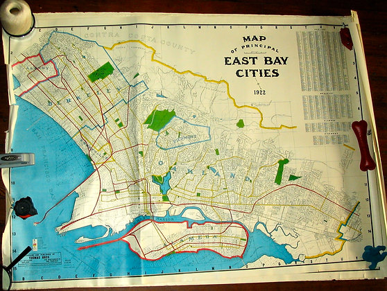 East Bay Cities, 1922