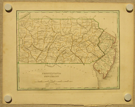 Pennsylvania & New Jersey, 1835
