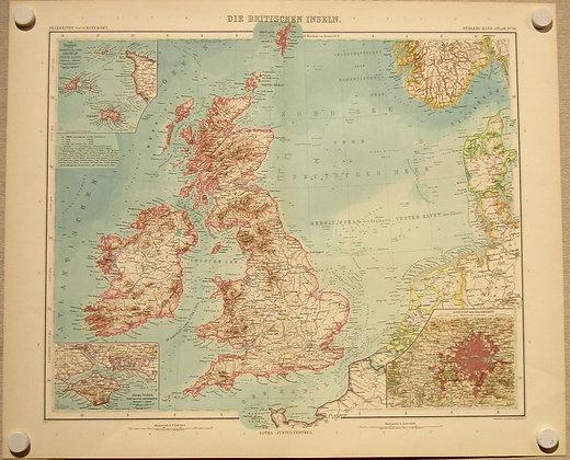British Isles, 1911