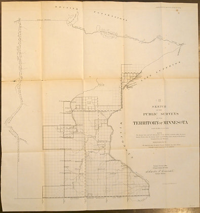 Minnesota Territory, 1856