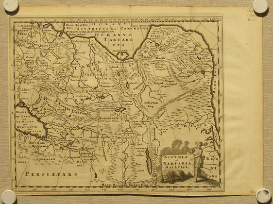 Scythia et Tartaria Asiatica, 1720