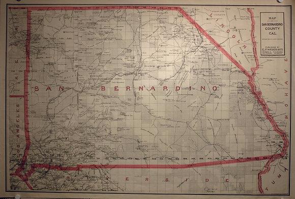 San Bernardino County, CA 1914