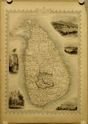 Ceylon, 1855