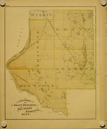 Minnesota Counties, 1879