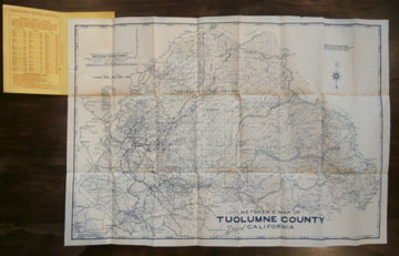 Metsker's Map of Tuolumne County