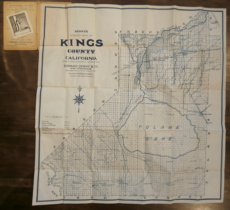 Denny's Pocket Map of Kings County