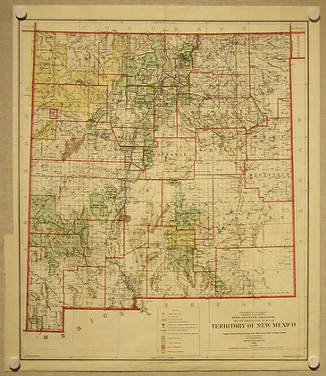 New Mexico Territory, 1908