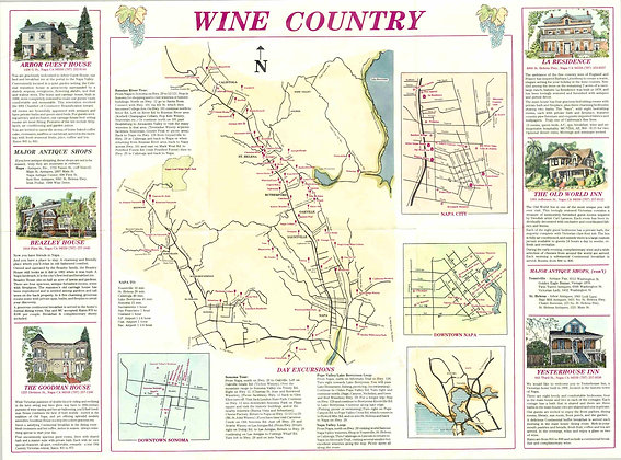 California Wine Country, 1976