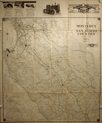 Monterey and San Benito Counties, 1947
