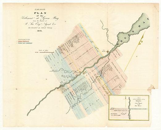 Green Bay, 1821