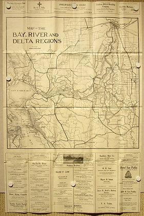 Bay, River and Delta Regions, 1930