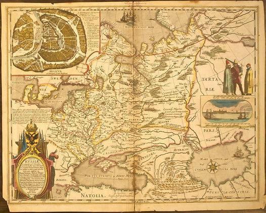 Tabula Russiae, 1635