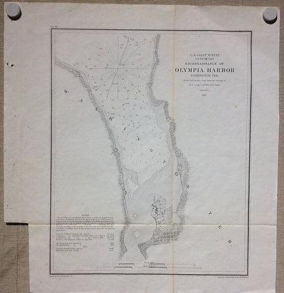 1856 USCS Olympia Harbor