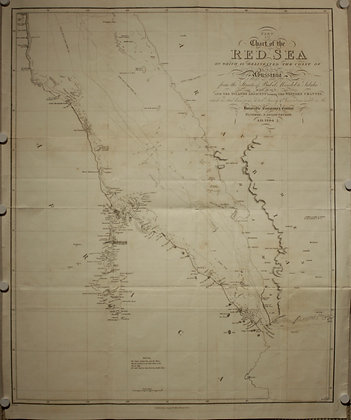 Red Sea Chart, 1804