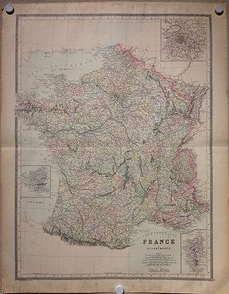 1886 France by Bradley's