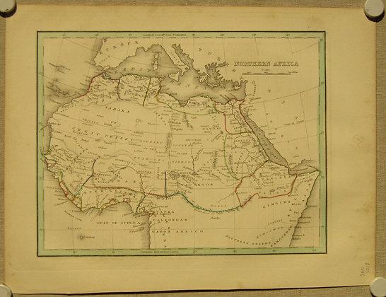 Northern Africa, 1835