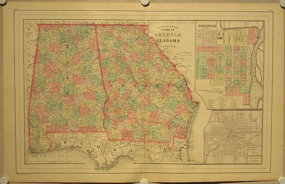 Georgia & Alabama, 1887