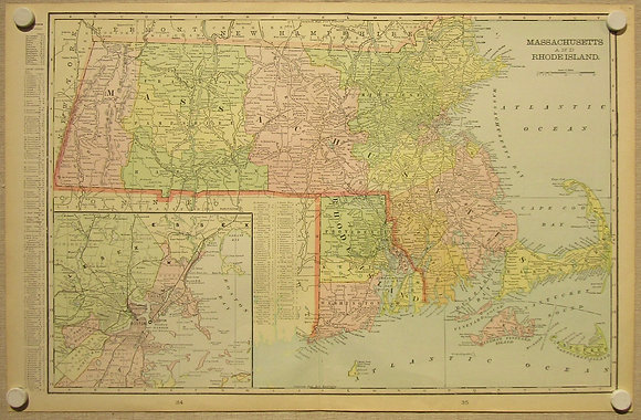 Massachusetts & Rhode Island, 1901